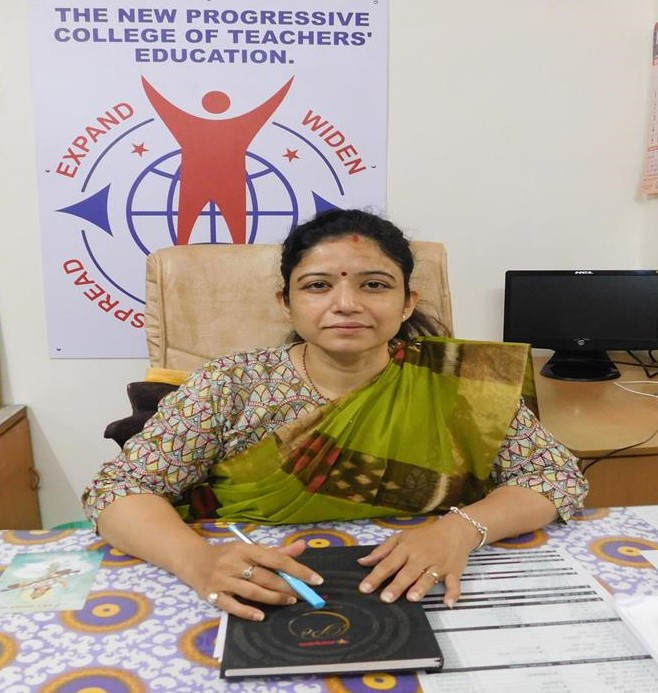 Dr.Hetal C. Patel Incharge Principal The New Progressive College of Teachers' Education Mehsana Gujarat India