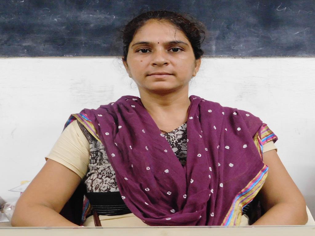 Ronakben A Patel Assistant Professor